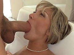 MILF screams as that babe acquires fucked