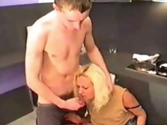 Russian MILF Drilled In Kitchen 2010 by fym11001
