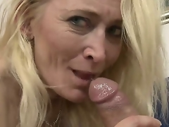 Large arse granny can't live without it when a young throbbing cock permeates her unfathomable as this babe screams
