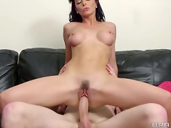 Danny D came to visit his gal but was greeted by her filthy mother Lena who decided to fuck him hard in advance of her daughter receives home.