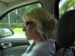 This milf is just awesome, cuz this babe likes to fuck with strangers. Moreover, this babe is fond of doing it on camera and today this babe is fucking for us. Just take a look how this babe sucks