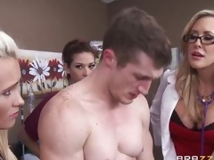 Doctor Brandi Love acquires her patient up and running