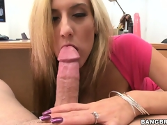 Exciting POV blowjobbing and cunnilingus from the horny pair