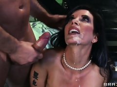 Horny slut Shay Sights getting fucked hard until her constricted asshole is totally sore