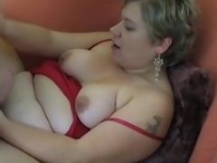 Enormous non-professional Milf homemade hardcore act