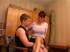 Ravishing mama in hot group sex
