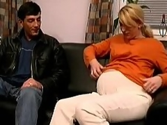 Pregnant Euro wife having raunchy congress