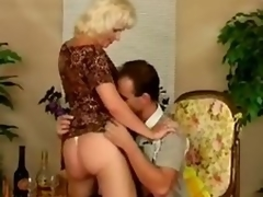 Older bitch Kate receives fucked not quite many positions after giving a blowjob